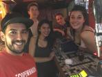 En Luna Bar, bar latino en el barrio rojo de Copenhagen que frecuentabamos